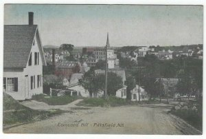 Pittsfield, New Hampshire, Vintage Postcard View of Concord Hill