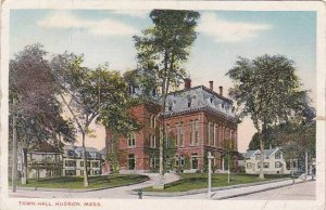 Massachusetts Hudson Town Hall1916