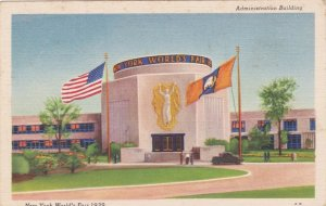 New York World's Fair 1939 Administration Building sk1905