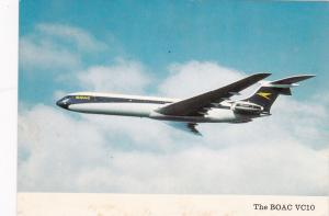 Airplane in Flight, B.O.A.C. VC10 Jetliner, 50-70's