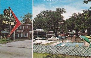 [BC} Oak Manor Motel , BILOXI , Mississippi , 1964