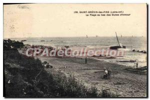 Postcard Old St Brevin Les Pins The Beach In The Netherlands Love dunes