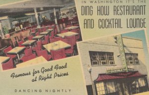 WASHINGTON D.C. , 1930-40s ; Ding How Restaurant