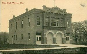 NE, Wayne, Nebraska, City Hall
