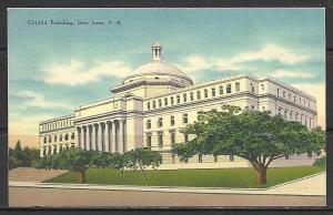 Puerto Rico, San Juan - Capitol Building