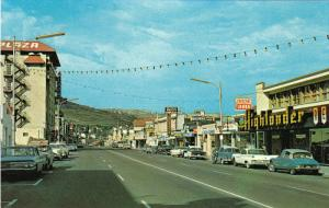 Main Street , KAMLOOPS , B.C. , Canada , 50-60s
