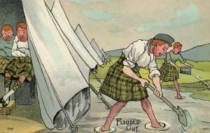 UK Comic Military; 1900-10s ; Flooded Out