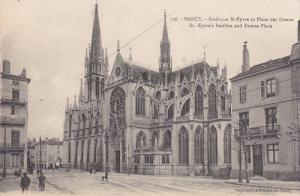 St. Epvre's Basilica And Dames Place, NANCY (Meurthe et Moselle), France, 190...