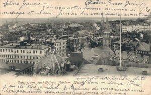 USA - View from Post Office Boston Massachusetts 04.63