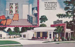 HARDEEVILLE, South Carolina, 1940-1960´s; The Magnolia Restaurant, U.S. 17