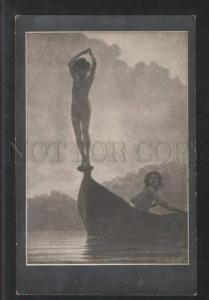 101577 ART NOUVEAU Lesbian by FIDUS vintage RARE PC