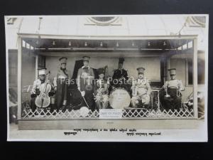 VICTOR VORZANGER BAND at Ramsgate ROYAL VICTORIA PAVILION c1920's RP Postcard