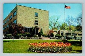 Sandusky OH- Ohio,  Ohio Soldiers and Sailors Home, Chrome Postcard