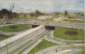Clover Overpass, Paso a Desnivel, Mexico City, Mexico, 40-60's