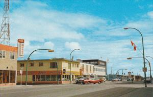 Canada Downtown Business Section Ruthland's Drug Store Yellowknife Northwest ...