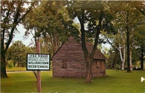 1753 House Williamstown Bicentennial Massachusetts Postcard