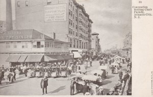 ATLANTIC CITY, New Jersey, 1901-1907; Convention Rolling Chair Parade