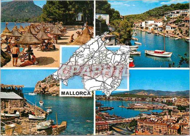 Postcard Modern Mallorca