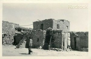 AZ, Moenkopi, Arizona, Hopi Indian Pueblo, Frashers, RPPC