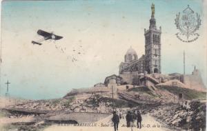 MARSEILLE, Bouches-du-Rhone, France; Salut de Aviteurs de la Garde, PU-1913