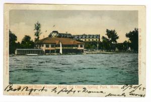 Spring Park, Minnesota to Milwaukee, Wisconsin, undivided back, Hotel Del Otero