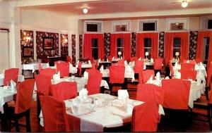 Pennsylvania Coatesville Coach & Four Inn Dining Room