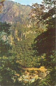 Romania Postcard mountain scenic landscape panorama Baile Herculane