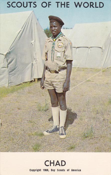Scouts of the World, CHAD, 40-60´s