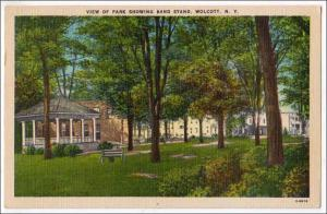 Park, Band Stand, Wolcott NY