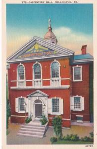Pennsylvania Philadelphia Carpenters' Hall