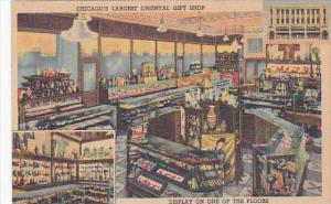 Illinois Chicago Chinese Emporium Oriental Gift Shop Interior