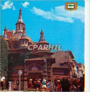 Postcard Modern Lloret de Mar (Costa Brava) Parish Church