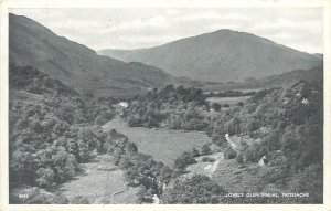 Postcard UK England Scotland Glen Finlas, Dunbartonshire