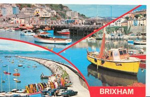 Devon Postcard - Views of Brixham    XX738