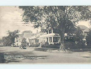 1940's HOUSES ON TRUMBULL AVENUE Milford - Near Stratford & Bridgeport CT F1417