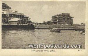 Landing Stage Aden Republic of Yemen Unused