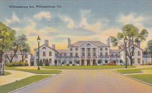 Virginia Williamsburg Inn 1953