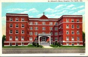 Arkansas Fort Smith St Edward's Mercy Hospital Curteich