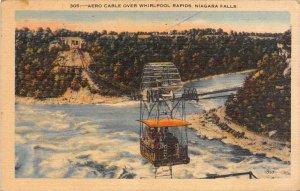 11739 Aero Cable over Whirlpool rapids Niagara Falls