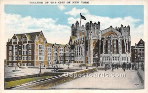 College of the City, New York City, New York