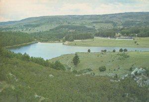 Troutbeck Inn Inyanga Rhodesia Aerial Vegetation Postcard