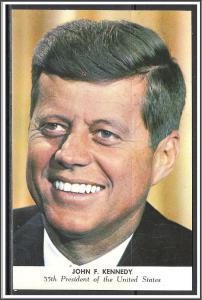 President John F Kennedy Post Card