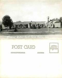 Colonial Motor Court, Twin Falls, Idaho ID, RPPC