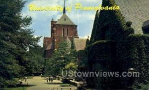 University of Pennsylvania Philadelphia PA Unused