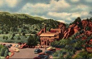 Colorado Colorado Springs Garden Of The Gods Hidden Inn 1950 Curteich