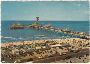 SCHEVENINGEN, Pier, Netherlands, Holland, 1963 used Postcard