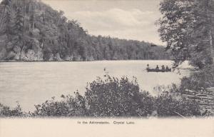 Row boat, In the ADIRONDACKS, New York; Crystal Lake, 00-10s