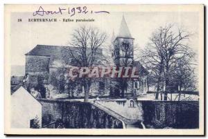 Luxembourg Old Postcard Echternach Parish Church