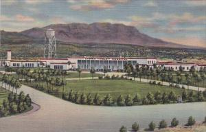 Carrie Tingley Hospital And Caballo Mountains Hot Springs New Mexico