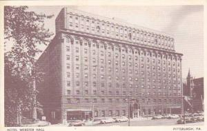 Hotel Webster Hall, Pittsburgh, Pennsylvania, 1920-1940s